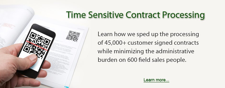 Time Sensitive Contract Processing
