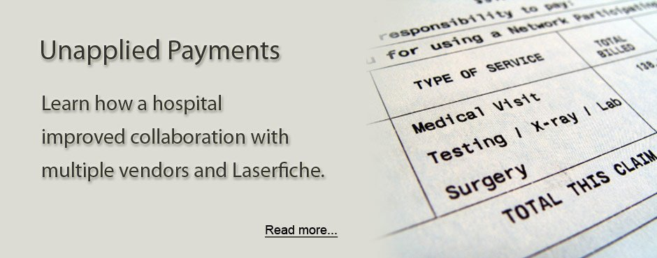 Unapplied Payments Hospital Billing